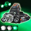 HEADLAMP CREE XM-L2 + Green LIGHT